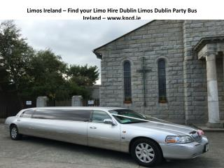 Limos in Dublin Ireland Party Bus Hire Dublin