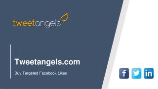 Buy Targeted Facebook Likes Starts from $34.99