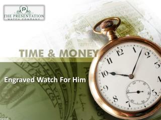Engraved watches for him cheap