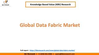 Global Data Fabric Market Growth