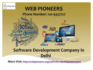 Software Development Company in New Delhi