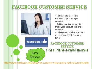 Is Facebook customer service 1-850-316-4893 beneficial for me