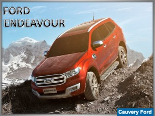 All New Ford Endeavour | The New Ford Endeavour | Cauvery Ford