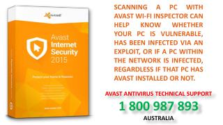 Avast Tech Support Phone Number Australia