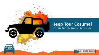 Cozumel Jeep Tours & Excursions