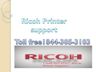 1-844-305-3103 | Ricoh Printer Support Service Toll-free Phone Number