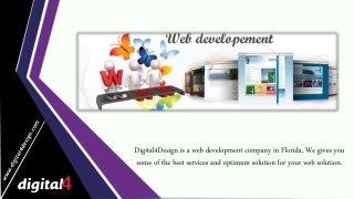 Digital4Design Dependable For All Your Website Solutions