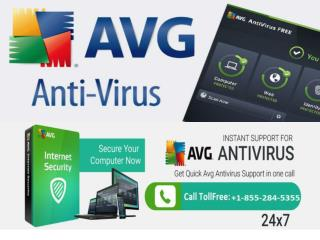 AVG Help  1-855- 284-5355 | Customer Service