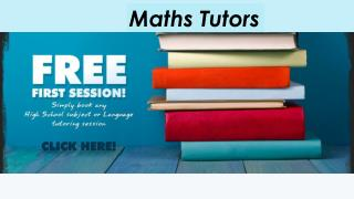 Maths Tutors