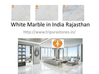 White Marble in India Rajasthan