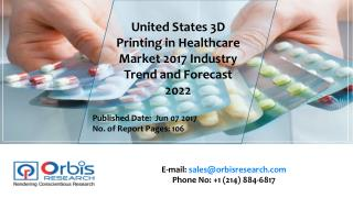 2017 Worldwide report On 3D Printing in Healthcare Market Forecast 2022