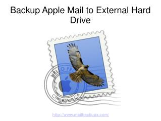 Backup Apple Mail to External Hard Drive