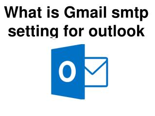 What is Gmail smtp setting for mac mail