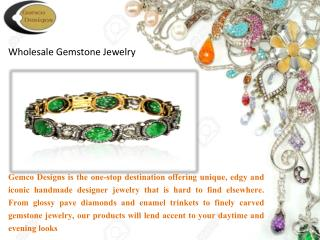 Find your Wholesale Gemstone Jewelry Supplier in India