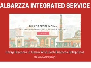 Doing Business in Oman With Best Business Setup Goal