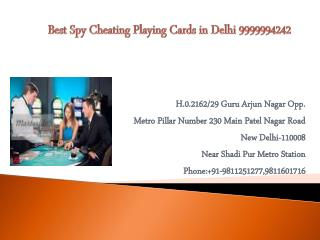Gambling Poker Games in Delhi 9999994242
