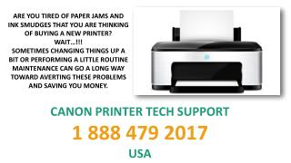 Printer Support For USA