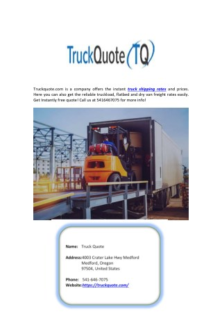 Flatbed Freight Rates
