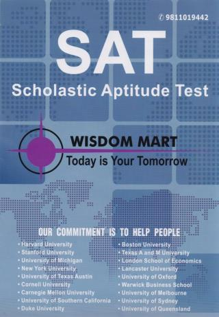 SAT Brochure For Students| SAT Exam Pattern 2017 | SATDELHI