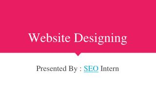 custom website ,web design