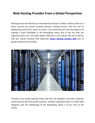 Managed Dedicated Server | Web Hosting Services US | vpsRus