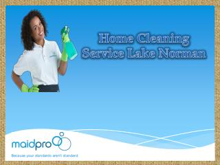 Home Cleaning Service Lake Norman