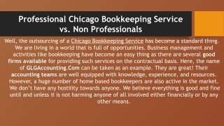 Effective Chicago Bookkeeping Service To Save Money