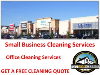 Small Business Cleaning Services In Pittsburgh PA