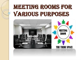 Choosing a Meeting Room for Clients in Vancouver