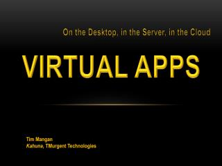 Virtual  Apps