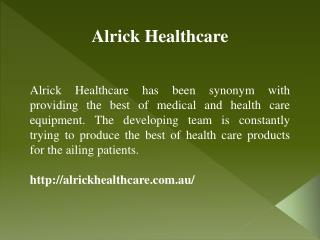 Hospital Bed Mattress Manufactured by Alrick Healthcare