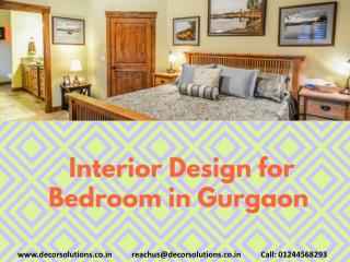 Interior Design for Bedroom in Gurgaon