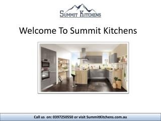 Kitchen Designs and Kitchen Renovations Company Melbourne