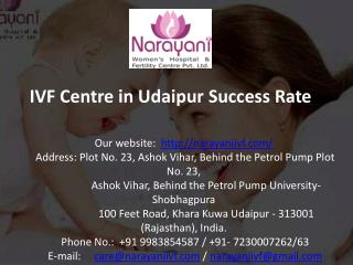 IVF Centre in Udaipur Success Rate