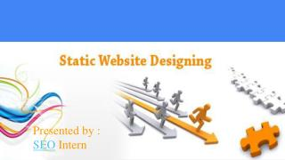 The Best Static Website Designing in India