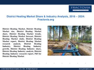 PPT for District Heating Market Update 2017