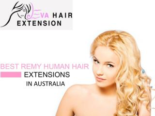 Best Remy Human Hair Extensions in Australia | Eva Hair Extension