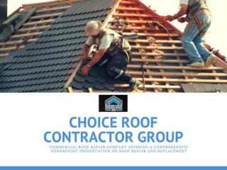 Why Take the Assistance of the Professional Roof Repair Contractors?
