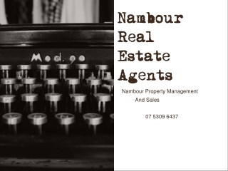 Nambour Real Estate Agents | Property Management and Sales