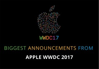 BIGGEST ANNOUNCEMENTS FROM APPLE WWDC 2017 - Techugo