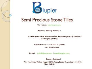 Semi Precious Stone Tiles