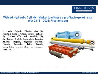PPT for Hydraulic Cylinder Market Demand & Forecast by 2017 - 2025