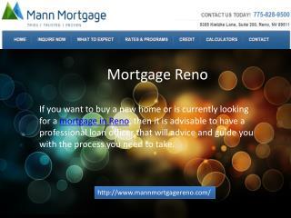 Mortgage Reno