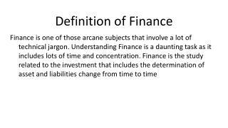 Finance Homework and Finance Assignment Help