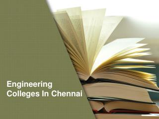 Automobile Engineering Colleges In Chennai
