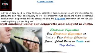 Buy E Cigarette at Low Cost