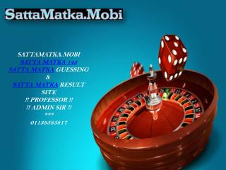 One of the Best Satta Matka Game Provider