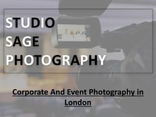 Famous corporate photographer in London