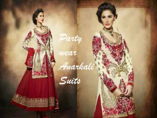 Party Wear Anarkali Suits at ShoppyZip