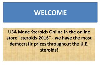 USA Made Steroids Online